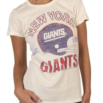 Women's NFL New York Giants T-Shirt by Junk Food