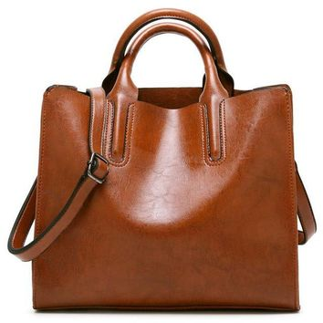 Famous Brands Women Bags Trunk Tote Brand Shoulder Bag Ladies large Bolas Leather Bags Handbags Women Pouch