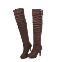 Knee Over Knee Boots up to Size 13 (27.5cm EU 45)