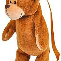 Wildlife Tree Kids 20 Inch Kangaroo Animal Backpack - Soft Stuffed Animal Small Plush Backpack