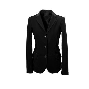 Cavalleria Toscana Ladies Technical Competition Jacket - Black - Cavalleria Toscana Show Jackets - Ladies Equestrian - The Rider