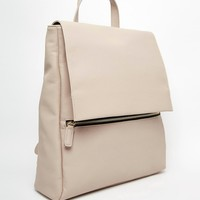 ASOS Zip Front Square Backpack