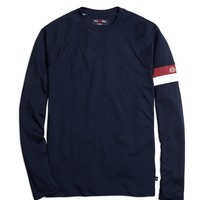 ProSport™ Topline Arm Stripe Sailing Tee - Brooks Brothers