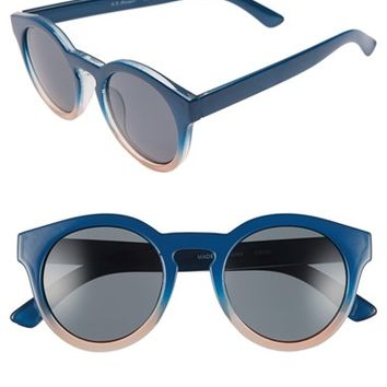Women's A.J. Morgan 'Hmmm' 49mm Cat Eye Sunglasses