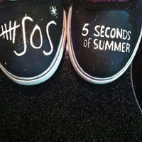 5 Seconds of Summer Custom Canvas Shoes