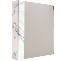russell + hazel Signature Binder, Marble, 1.5