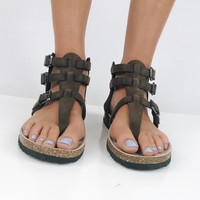 Pacific Coast Sandal - Brown
