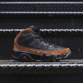 ONETOW Nike Air Jordan 9 NRG Boot - Black / Olive