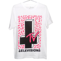 Satanic TV T-shirt (ATTN: notate SIZE during checkout)