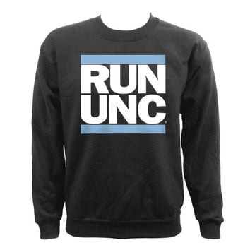 RUN UNC Crewneck - Black