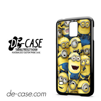 Minions Smile Group For Samsung Galaxy S5 Case Phone Case Gift Present
