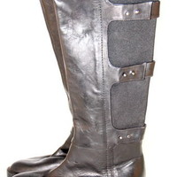 KENNETH COLE Roam the Streets Boots Riding Knee High Women Black Size 5.5 B $305