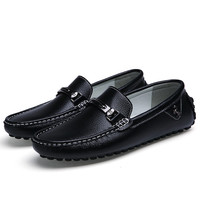 Men shoes fashion Moccasins Loafers Leather Shoes Men's Flats Slip On Driving Shoes Genuine Leather