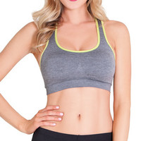 Grey Playtime Sports Bra