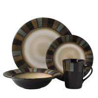 Pfaltzgraff Cayman 16 Piece Dinnerware Set