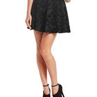 BCX Skirt, Brocade Skater - Juniors Skirts - Macy's