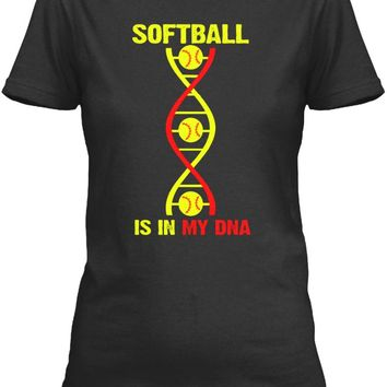 Softball DNA - It's in my DNA