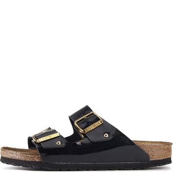 Birkenstock For Women: Arizona Black Patent Birko-flor - Beauty Ticks