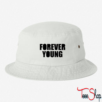 Forever Young bucket hat