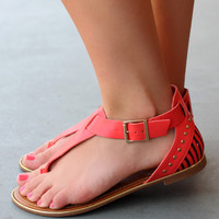 Uptown Girl Sandal - Grapefruit
