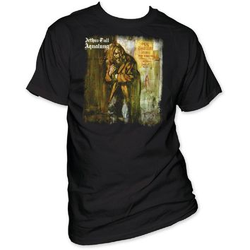 Jethro Tull Album Cover T-shirt - Aqualung | Men's Black Shirt