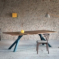 Gustave Table (walnut and charcoal)