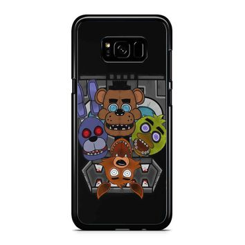 Five Nights At Freddy S Cool Chics Samsung Galaxy S8 Plus Case