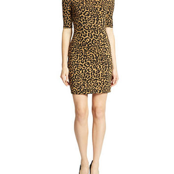 Guess Leopard Pattern Dress