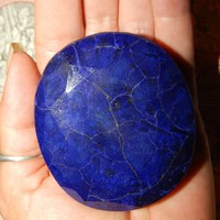 GENUINE SAPPHIRE - Earth-mined Sapphire - Massive 1050 carats - Almost 1/2 Pound! - Massive Real Sapphire - September Birthstone - Jewels