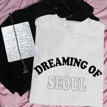 Dreaming of Seoul K-pop Graphic Tee