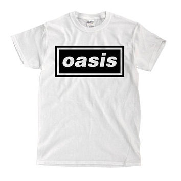Oasis - White Shirt - Ships Fast! High Quality!