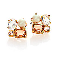 Kate Spade New York - Faux Pearl Cluster Earrings - Saks Fifth Avenue Mobile