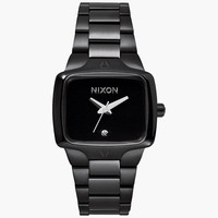 Nixon Small Player Watch All Black One Size For Women 25981810001