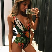 Beach Summer New Arrival Hot Swimsuit Hollow Out Sexy Swimwear Bikini [1901718601825]