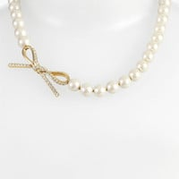 kate spade new york 'skinny mini' faux pearl necklace | Nordstrom