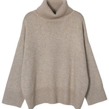 Oversized Crop Fit Sweater