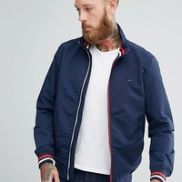 Tommy Hilfiger Stripe Edge Bomber at asos.com