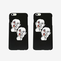 Nose Digging iPhone Case