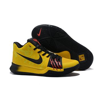 Beauty Ticks Nike Kyrie Irving 3 Bruce Lee Sport Shoes Us7-12