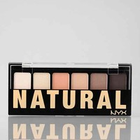 NYX Natural Eye Shadow Palette- Assorted One