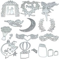 Multiple Options Metal Cutting Dies Stencils DIY Scrapbooking Album Decorative Craft Embossing DIY Paper Cards LS