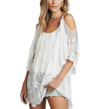 Sadie Lace Cover Up Dress