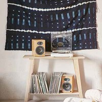 Traditional Indigo Dyed Mudcloth Tapestry - Urban Outfitters