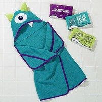 Wry Baby Monster Towels - Kid's Bath - Cost Plus World Market