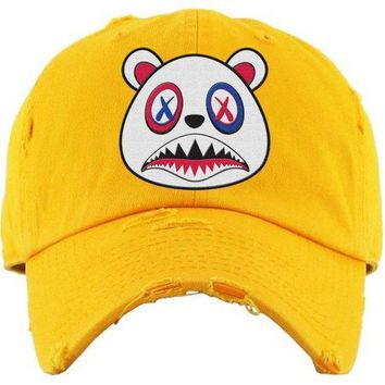 USA Baws Yellow Dad Hat