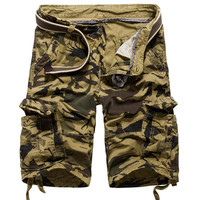 Camouflage Cotton Casual Pants [6541431811]
