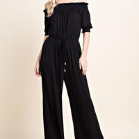 Keep It Simple Jumpsuit - Black