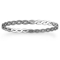 Light Twisted Wire Bangle Bracelet | James Avery