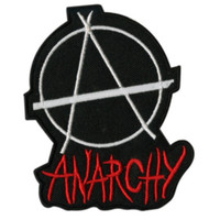Anarchy Iron-On Patch