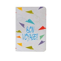 Paper Plane Leather Business ID Passport Holder Protector Cover_SUPERTRAMPshop